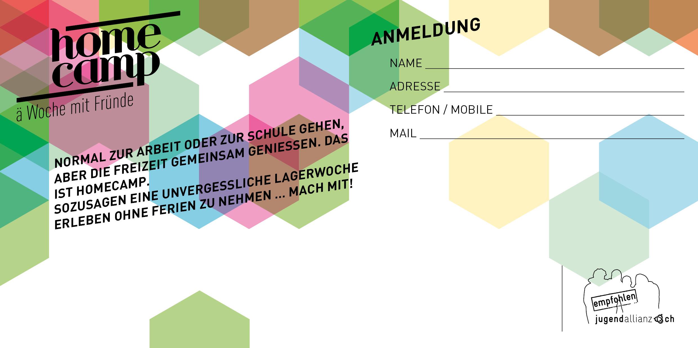Flyer-Vorlage - Jugendallianz
